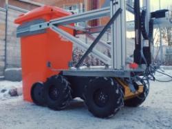 Студенти створили робота-прибиральника вулиць