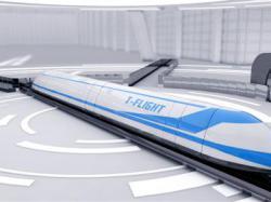 У Китаї запустять потяг, який розганятиметься до 4 000 км/год
