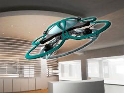 У Японії розробили дрон, який виганяє трудоголіків з офісів